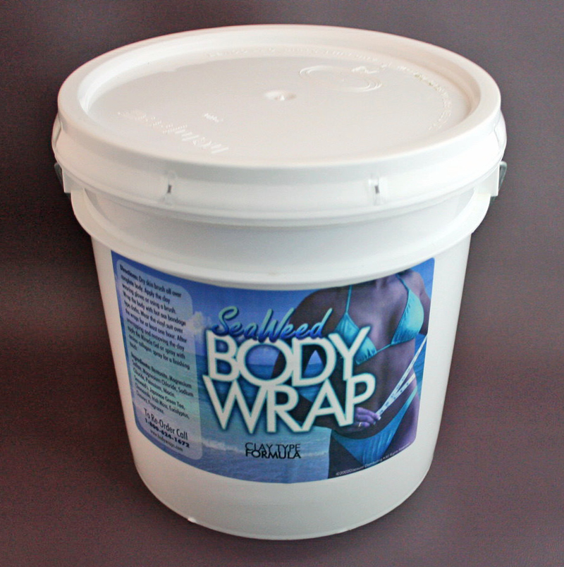 this is a picture of our Seaweed body wrap recipe, click to enlarge