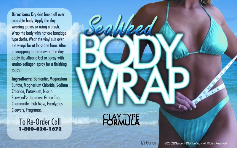 this is our seaweed mud type body wrap formula label, click to enlarge